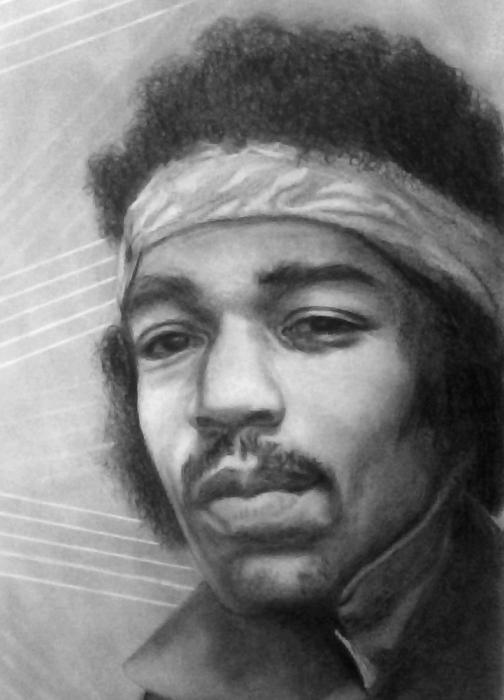 Jimi Hendrix by SilviaReis